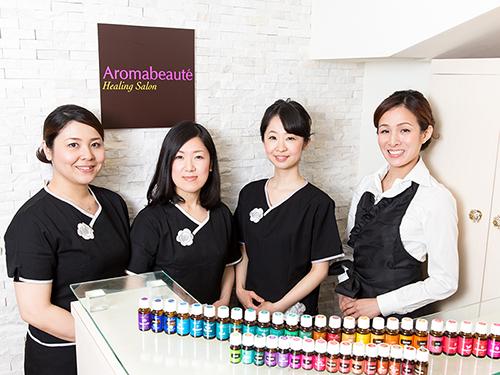 アロマボーテ表参道店・ソワンソワン青山本校 スタッフ募集の画像
